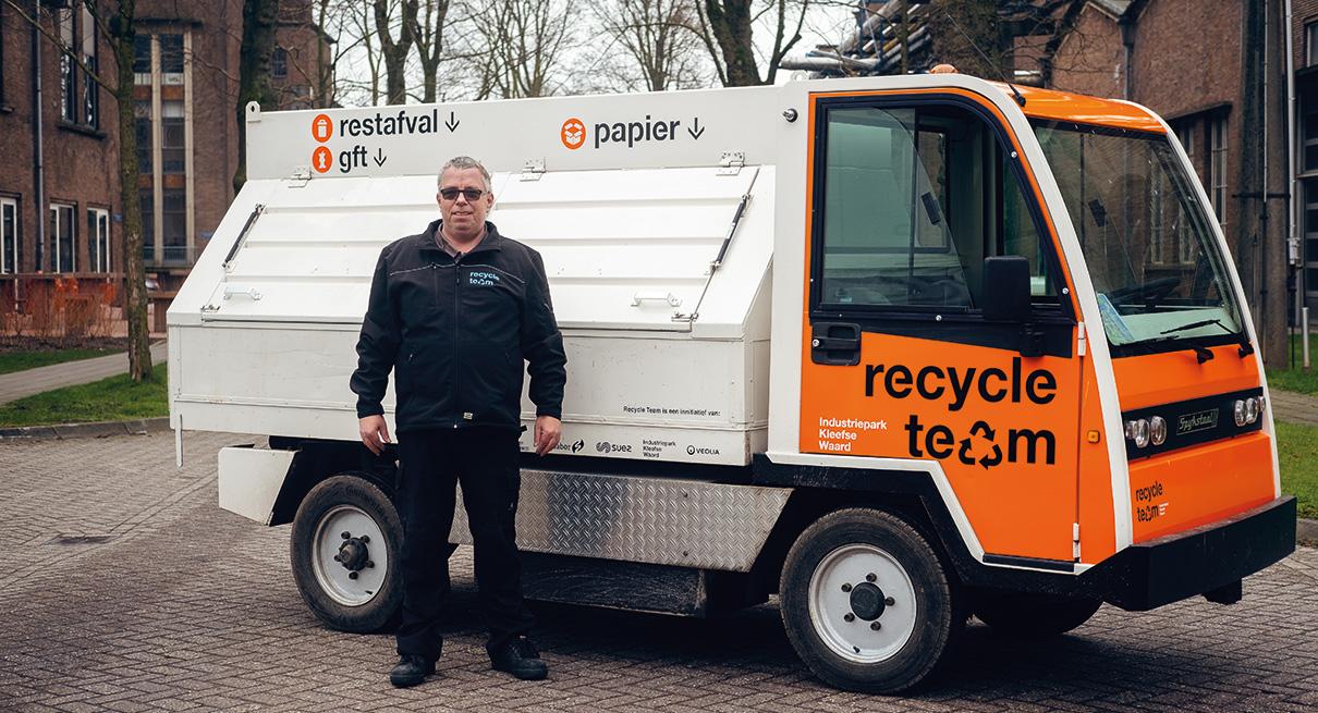 Ontmoet Frans van het recycleteam