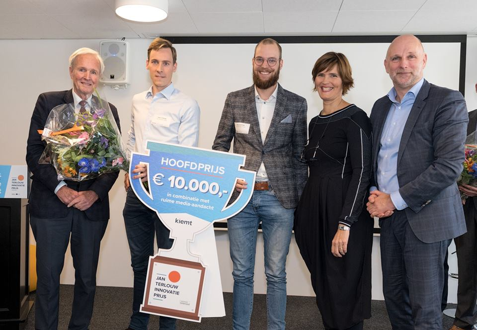 IPKW'er Time Shift energy storage wint Jan Terlouw Innovatieprijs