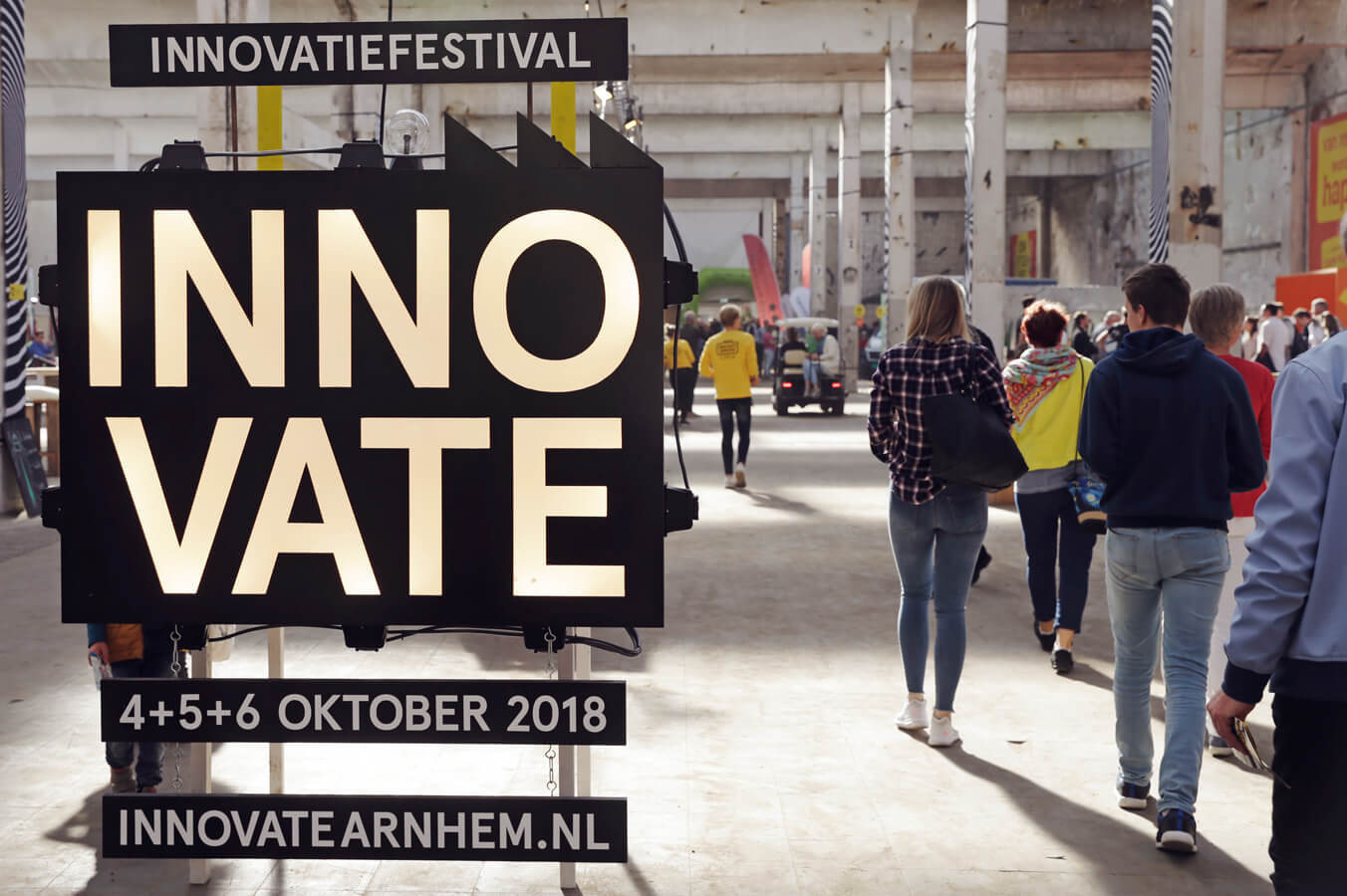 INNOVATE festival laat duizenden bezoekers de toekomst zien op IPKW