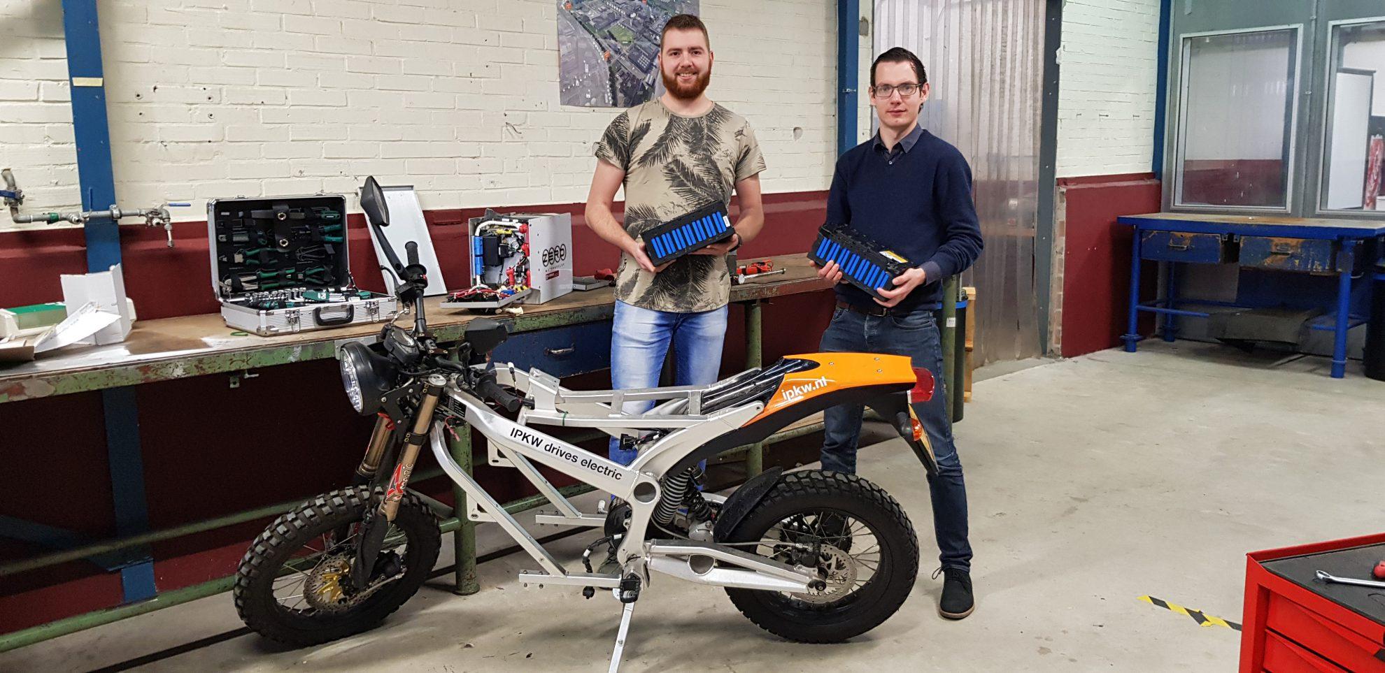 Opwindende rijbeleving met 100% elektrische motorfiets