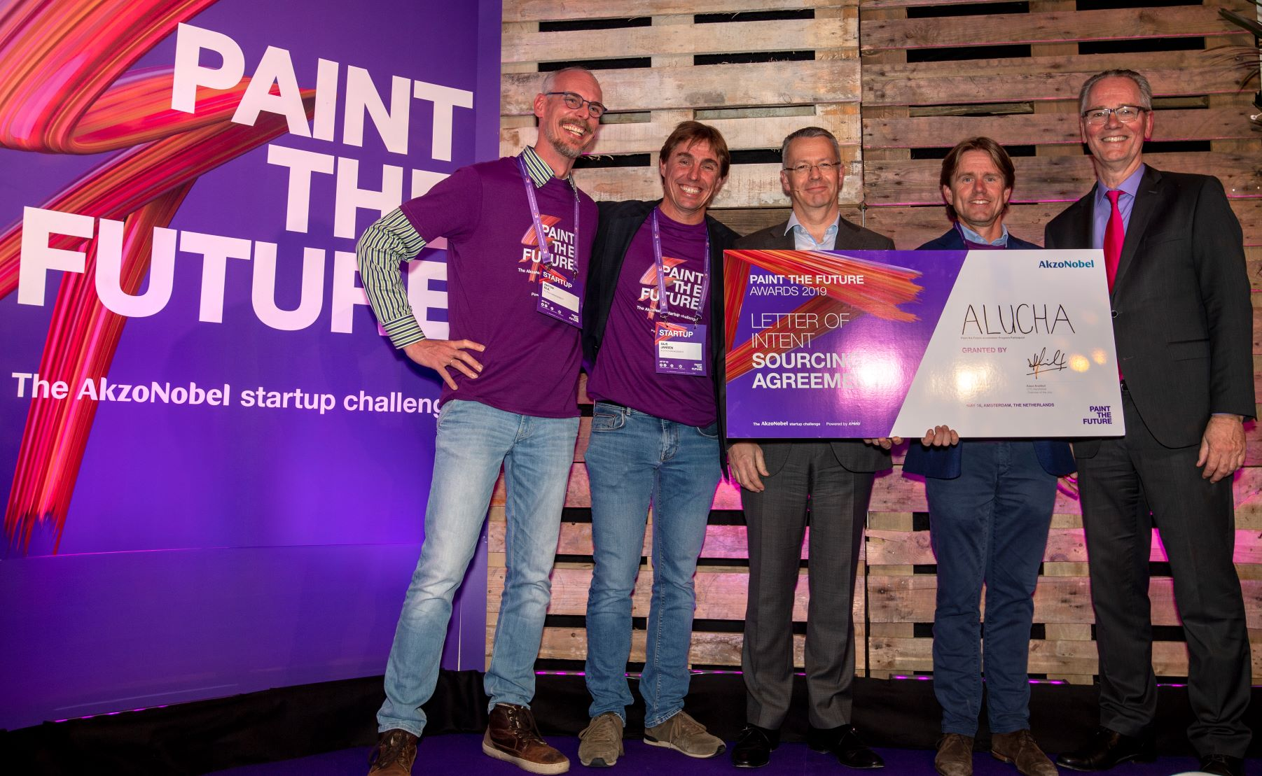IPKW'er Alucha wint de Paint the Future Award