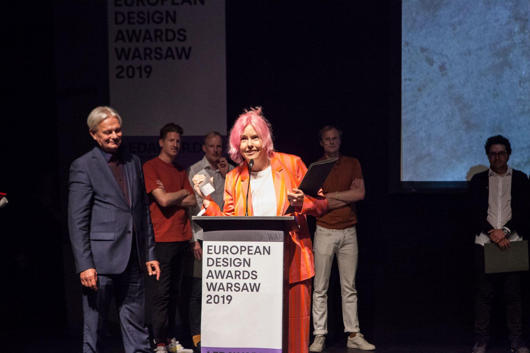 IPKW'er Dana Dijkgraaf wint een gouden European Design Award 2019