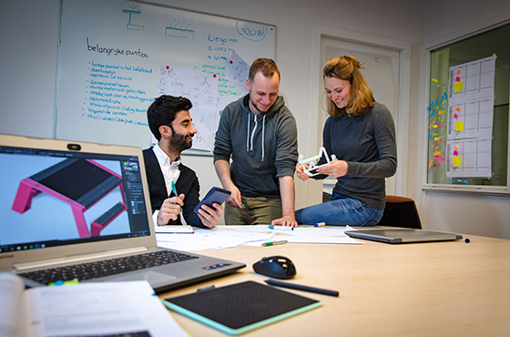 Nieuw semester engineering studenten in Mobility Innovation Center IPKW