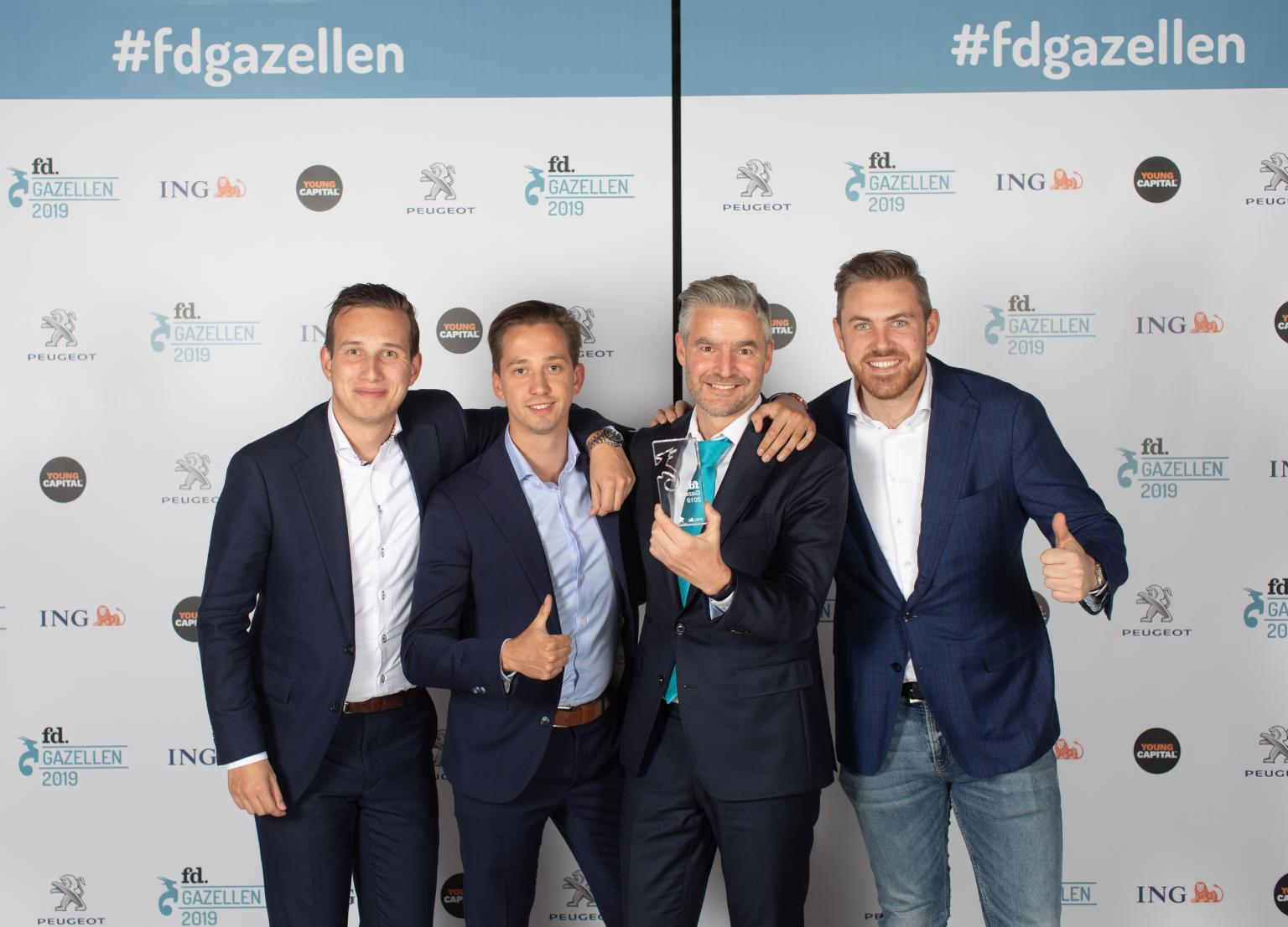 IPKW'ers Luminis en Kracht Recruitment winnen FD Gazellen award 2019