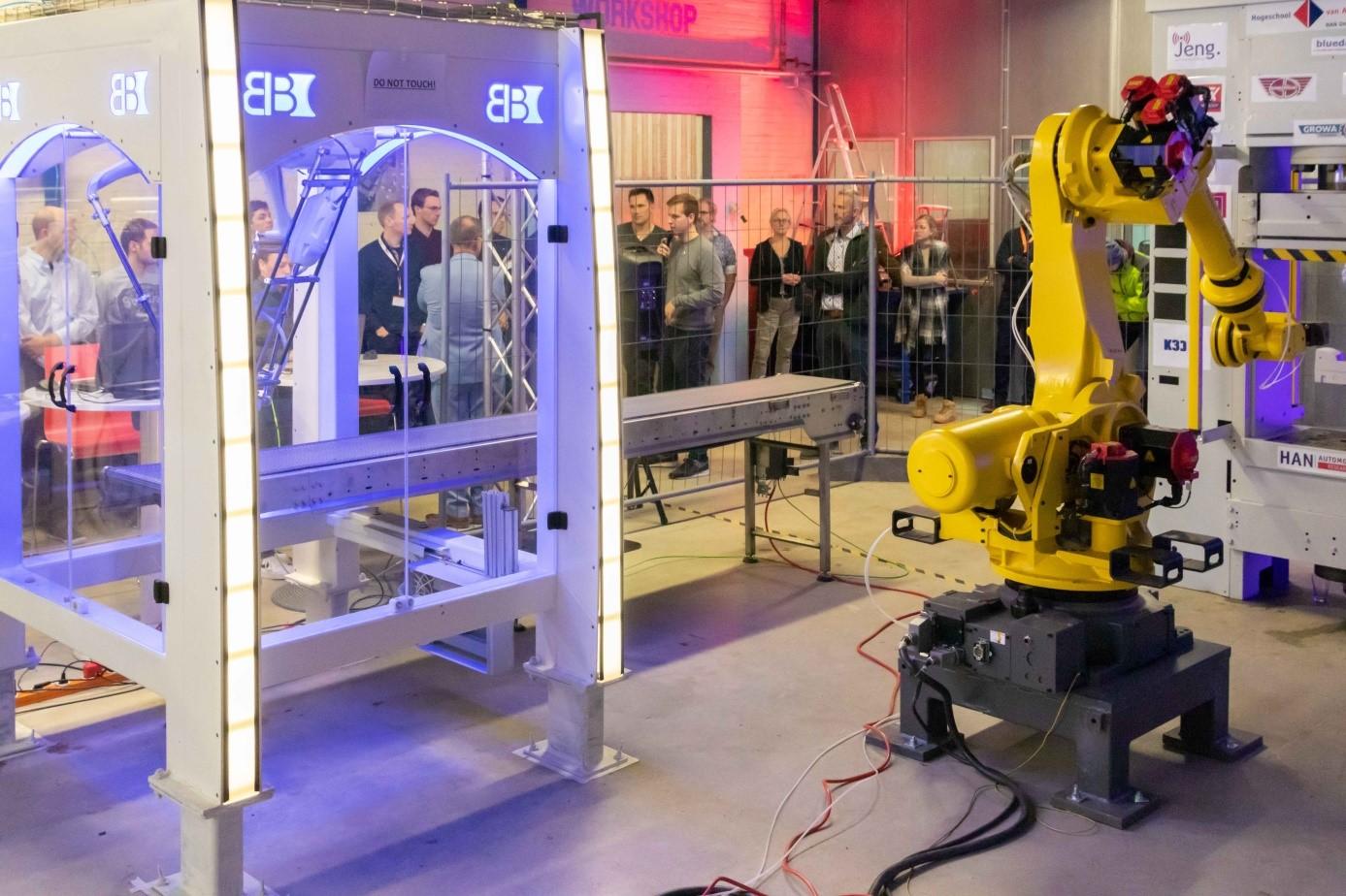 Smart Production Centre toont Digital Twin tijdens druk bezocht evenement op IPKW