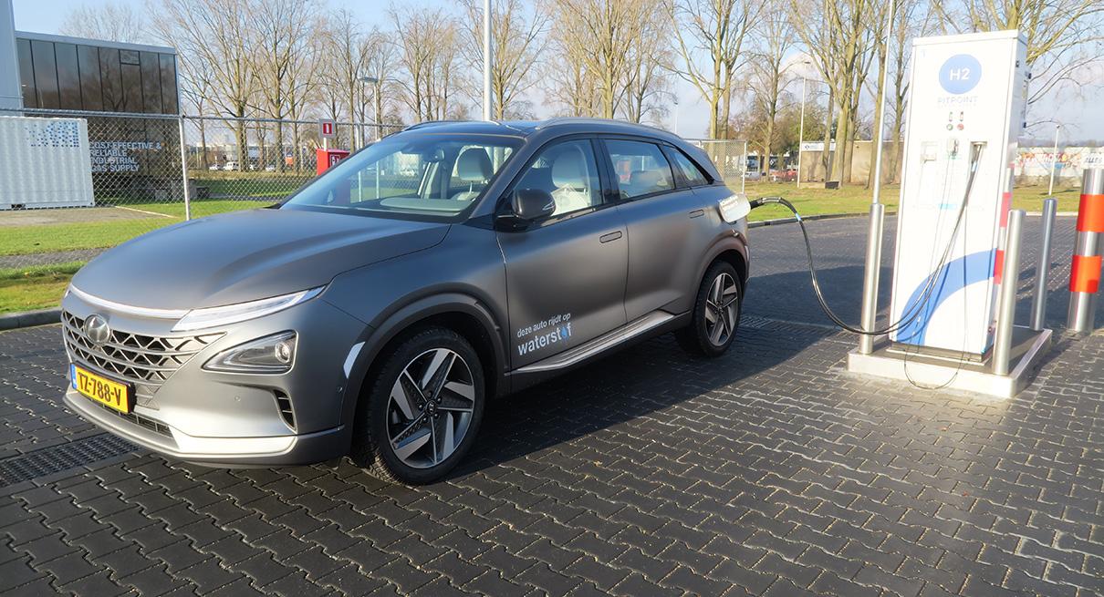 Waterstofauto's filteren al 1 jaar lucht schoon in regio Arnhem