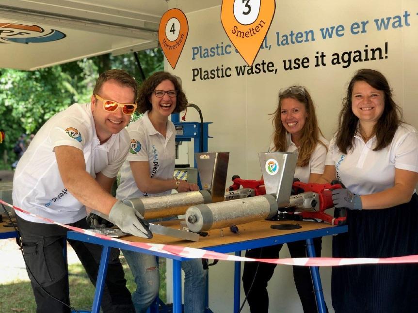 Bouwen met plastic afval
