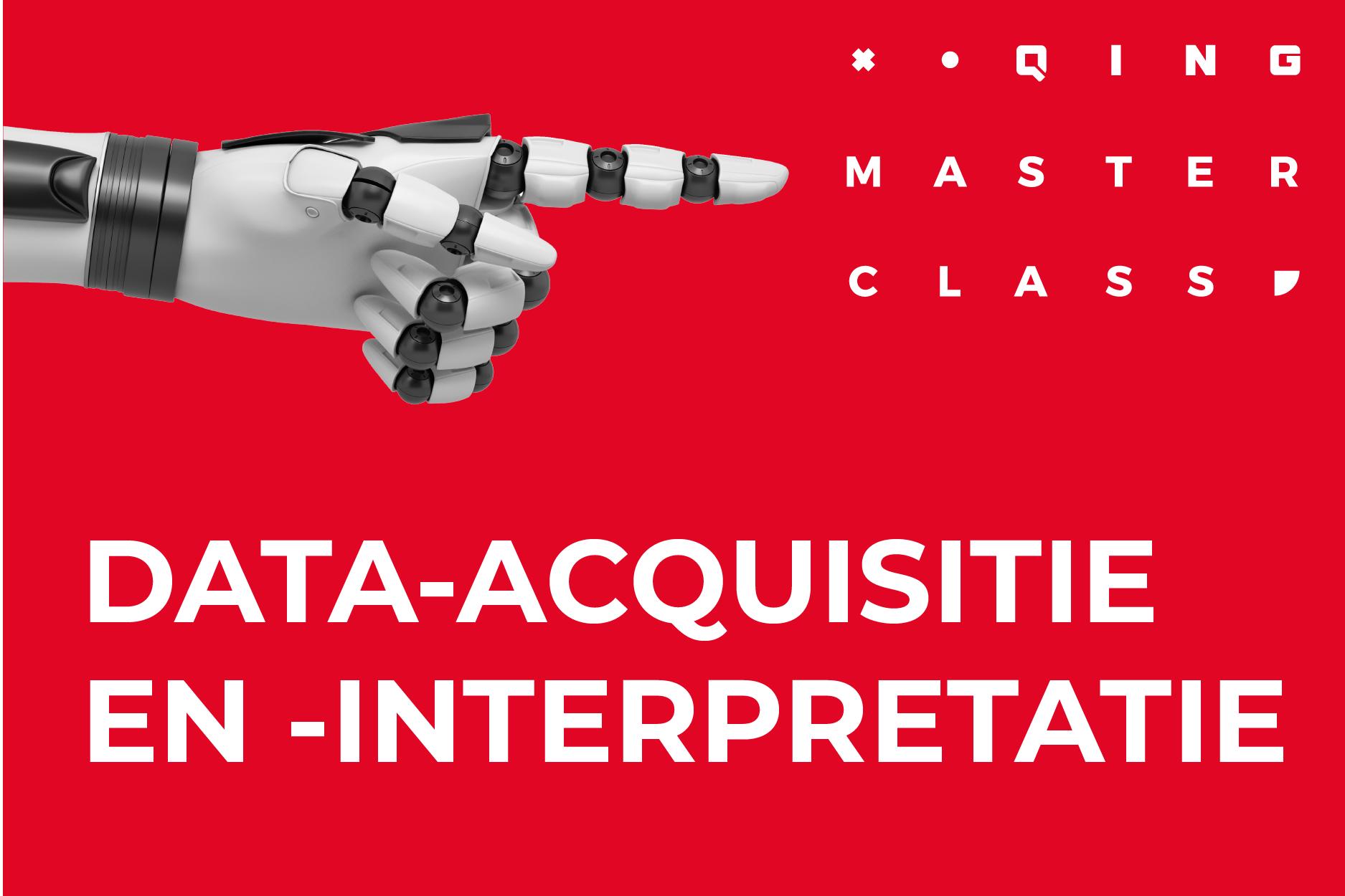 Masterclass Data-acquisitie en -interpretatie