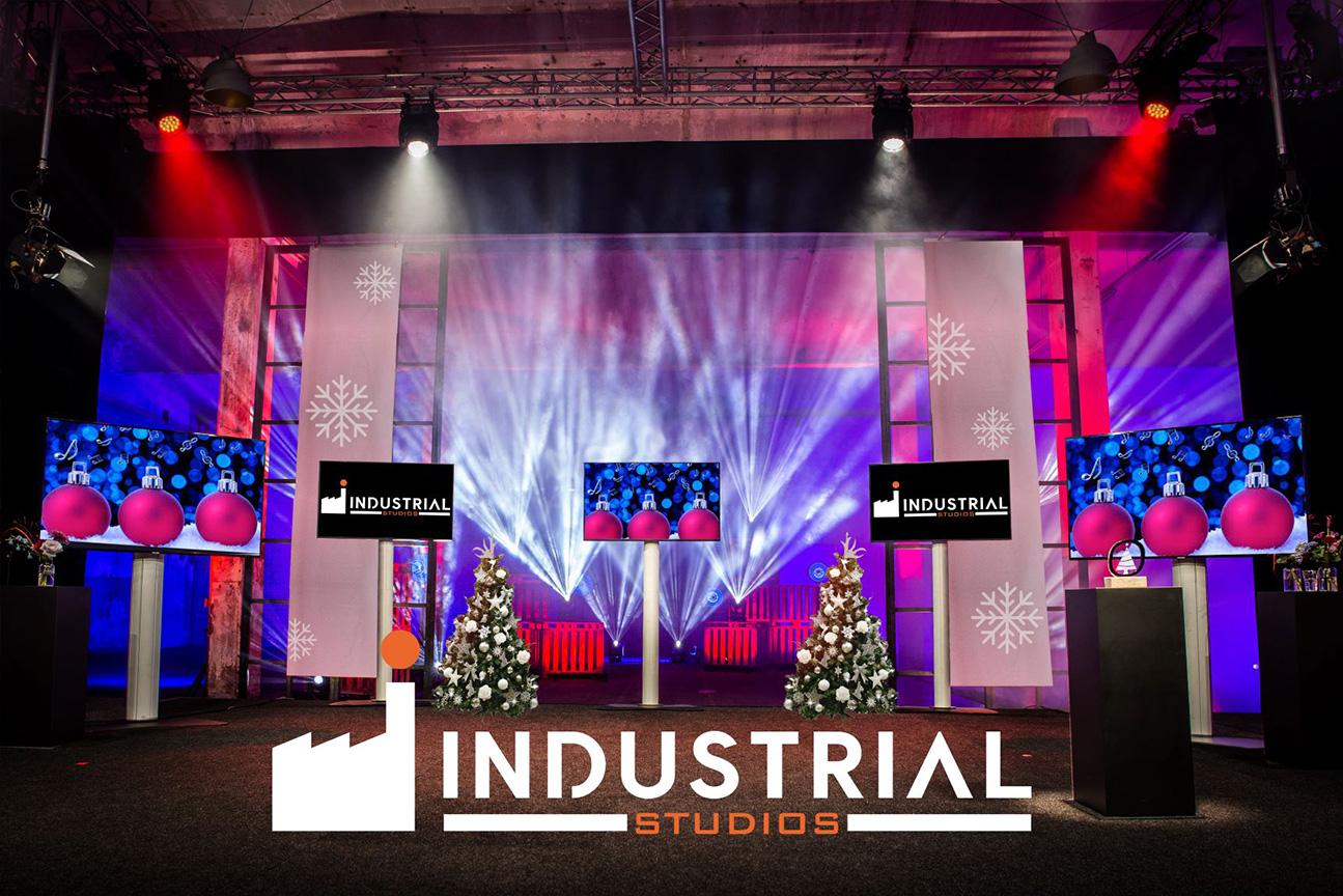 Winterwonderland in de Industrial Studios
