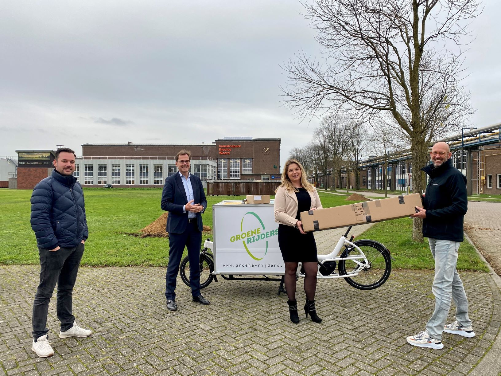 Pilot voor duurzame pakketbezorging in Arnhem