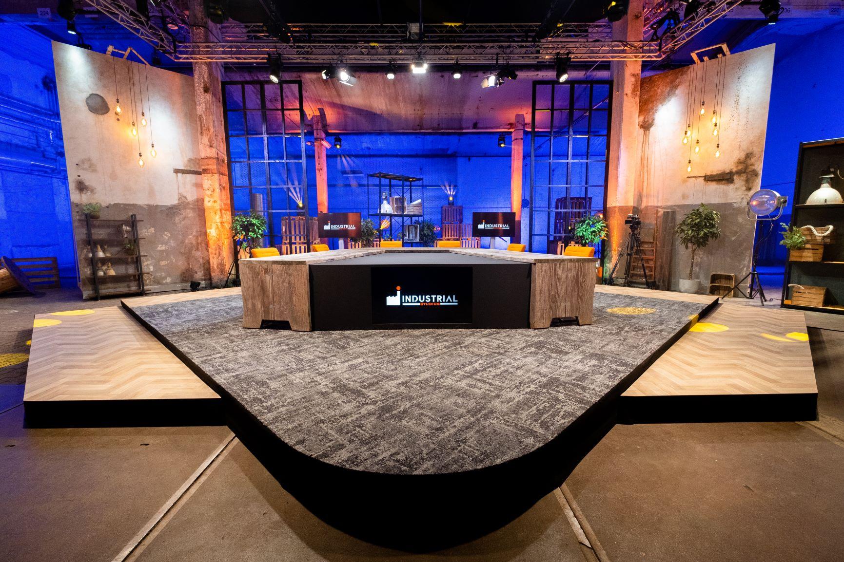 Industrial Studios op IPKW vernieuwd: 360 graden decor