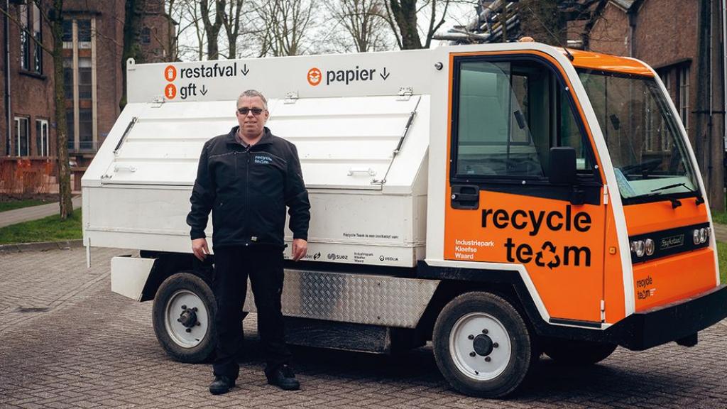 RTV Arnhem: Afvalambassadeurs helpen Kleefse Waard duurzaamste bedrijventerrein te worden