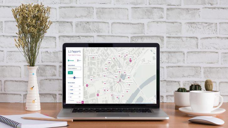 Spot IPKW op de interactieve kaart Lifeport