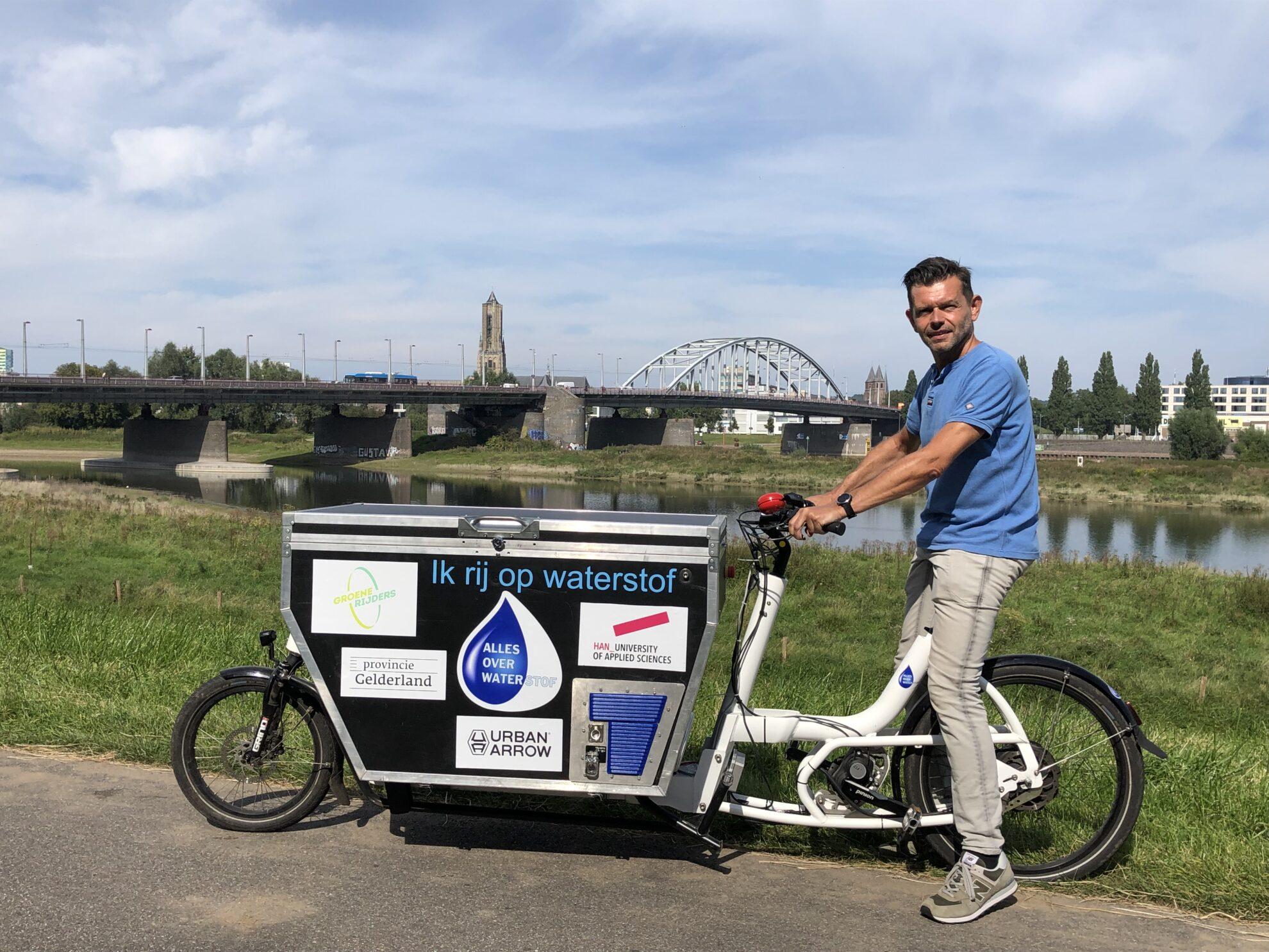 Prototype Nederlandse HydroCargo bakfiets onthuld
